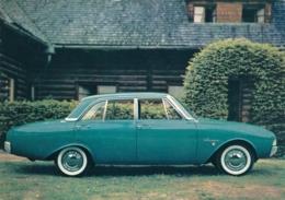Nederland - 1960 - 4 Cent Op Geaddresseerde Reklame Postkaart Voor Ford Taunus 17M - Ansichtskarten