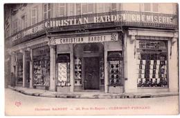 6541 - Clermont-Ferrand - Christian Bardet Chemiserie  ( 20 Rue St-Esprit ) - V.C.D. - - Clermont Ferrand
