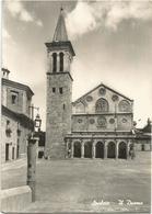 Y5242 Spoleto (Perugia) - Il Duomo Cattedrale E Il Campanile - La Facciata / Viaggiata 1956 - Italy