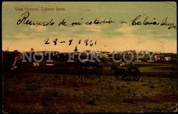 Uruguay Colonia Suiza Tarjeta Postal Original Ca 1900 Switzerland Colony In Uruguay (w5_1265) - Uruguay