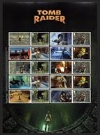 * ITEM DELAYED* GB 2020 VIDEO GAMES LAURA CROFT TOMB RAIDER ANIMATION COLLECTORS SHEET MNH - 1952-.... (Elizabeth II)