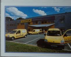 Petit Calendrier Poche 2001 La Poste  CLC Limoges - Bureau Echiré - Voiture Renault - Calendars