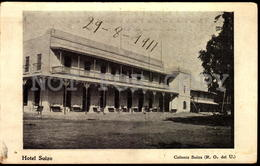 Uruguay Colonia Suiza Tarjeta Postal Original Ca 1900 Switzerland Colony In Uruguay Hotel Postcard (w5_1269) - Uruguay