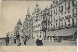 Oostende Ostende Dique De Mer Begin 1900 - Oostende