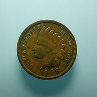 USA 1 Cent 1906 - Émissions Fédérales