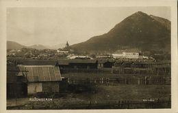 Slovakia, RUŽOMBEROK, Panorama (1920s) RPPC Postcard - Slowakei
