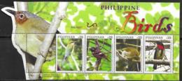 PHILIPPINES, 2019, MNH, BIRDS, SHEETLET - Altri