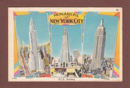 USA - Monarchs Of NEW YORK CITY - Buildings - New York City