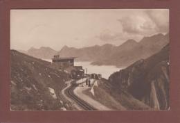 Ligne Des Rochers De Nye - Station DENT DE JAMAN - 1917 - VD Vaud