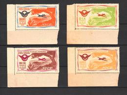 France 1947, Air Mail Vignettes, Mint** (39n) - Sellos