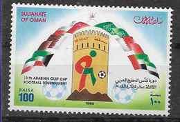 1996 OMAN Michel 417** Football, Drapeaux - Oman