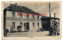 Wrist 1915, Restaurant U. Bahnhofs-Hotel, Amt Kellinghusen, Kr. Steinburg - Kellinghusen