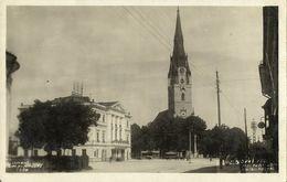Slovakia, Spišská Nová Ves, Roman-Catholic Church (1930s) RPPC Postcard - Slowakei
