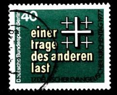 Berlin 1977  Mi.Nr: 548 Evangelischer Kirchentag Berlin  Oblitèré / Used / Gebruikt - [5] Berlin