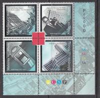 2013 Malaysia RHB Bank Complete Block Of 4 MNH - Maleisië (1964-...)