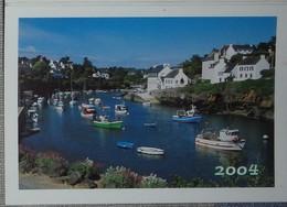 Petit Calendrier Poche  2004  La Poste  Doëlan - Bureau De Gray - Calendars