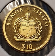 Samoa 10 Tala 2008 Hans Christian Andersen (gold) - Samoa