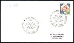 WATER SKIING - ITALIA MILANO 1986 - CAMPIONATO MONDIALE JUNIORES SCI NAUTICO - CARD - Sci Nautico