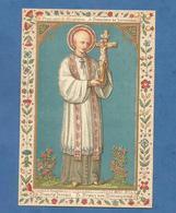 IMAGE PIEUSE HOLY CARD SANTINO IMMAGINETTE SACRE SAINT AUGUSTIN BRUGES BRUGGES   GERONIMO FRANCIS JEROME FRANZ JERONIMO - Images Religieuses