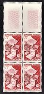 FRANCE 1954 - BLOC DE 4 TP  Y.T. N° 974 - NEUFS** - Ungebraucht