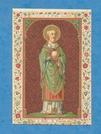 IMAGE PIEUSE HOLY CARD SANTINO IMMAGINETTE SACRE SAINT AUGUSTIN BRUGES BRUGGES   SAINT PIATO PIAT SAINT AUGUSTIN BRUGES - Images Religieuses