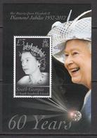 2012 South Georgia QEII Diamond Jubilee Souvenir Sheet MNH @BELOW FACE VALUE - Georgia Del Sud