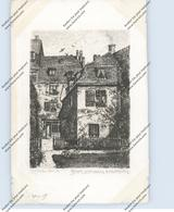 5300 BONN, BEETHOVEN - Haus, Gartenasicht, Künstler-Karte Carl Jander - Berlin, 1911 - Bonn