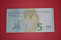 5 EURO M004 C2 PORTUGAL M004C2 - Serial Number MA232229008 - UNC FDS NEUF - EURO