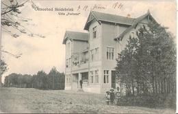 Ostseebad HEIDEBRINK Miedzywodzie Pommern Insel Wolin Villa Fortuna Grünlich Belebt 12.6.1914 - Pommern