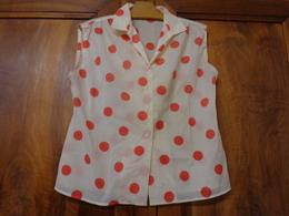 Chemisier Vintage T 42 - Vintage Clothes & Linen