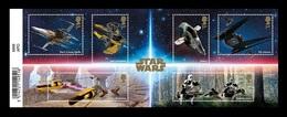 Great Britain 2019 Mih. 4500/05 (Bl.130) Cinema. Star Wars (III) MNH ** - 1952-.... (Elizabeth II)
