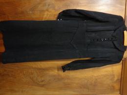 Robe De Deuil -joli Petit Col Pour Theatre Ou Militaria  Reconstitution - Vintage Clothes & Linen
