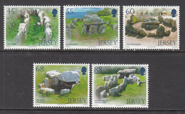 2012  Jersey Dolmens Complete Set Of 5 MNH @BELOW FACE VALUE - Jersey