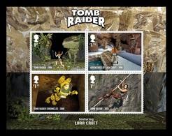 Great Britain 2020 Mih. 4524/27 (Bl.131) Video Games. Tomb Raider MNH ** - 1952-.... (Elizabeth II)