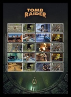 Great Britain 2020 Mih. 4528I/31I Video Games. Tomb Raider (M/S) MNH ** - 1952-.... (Elizabeth II)