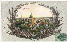 Feldpost-AK Lüneburg, Totalansicht Mit Heidekranz 1907 - Lüneburg
