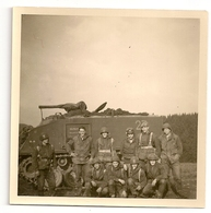 PHOTO  Full Track M75, 12eme De Ligne (3eme Compagnie) Vogelsang 1967. - Veicoli