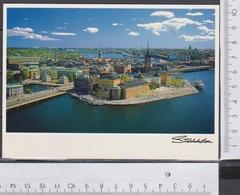 Stockholm Schweden Gelaufen  AK 590 - Schweden