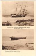 DIERHAGEN Ostsee Strandung Seenot 3 Mastschoner JANNE Finnland 1930 TOP-Erhaltung Ungelaufen - Fischland/Darss