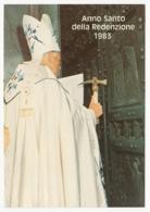 Anno Santo Della Redenzione 1983 - Papa Giovanni Paolo II. (Papst Johannes Paul II., Pope John Paul II) - Päpste