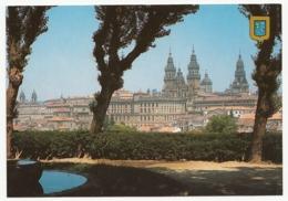 Santiago De Compostela - Vista General Desde El Mirador De La Herradura - Santiago De Compostela