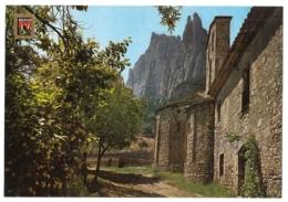 Montserrat - Marganell - Santa Cecília - Spanien