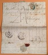 Napoli: LA TORRE DELL'ANNUNZIATA  Lettera CHOLERA 1854>Taninges Savoie(lettre Cover - Napoli