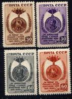 RUSSIE - 1044/1047**  - MEDAILLE DE LA VICTOIRE - 1923-1991 USSR
