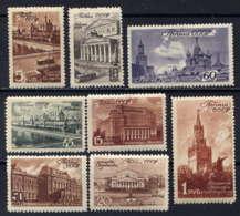 RUSSIE - 1051/1058**  - SITES ET MONUMENTS DE MOSCOU - 1923-1991 USSR