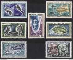 MONACO 1962 - SERIE N° 591 A 597 - 7 TP NEUFS ** - Nuovi
