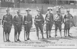 NOS ALLIES AMÉRICAINS EN FRANCE Militaria Guerre 1914-1918 - Guerre 1914-18