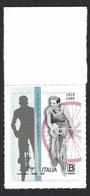 Italia 2019; Fausto Coppi, Francobollo Di Bordo. - 6. 1946-.. Repubblica