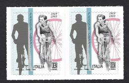 Italia 2019; Fausto Coppi: Coppia. - 6. 1946-.. Repubblica