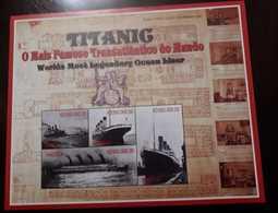 U) 1998, ANGOLA, TITANIC, MULTIPLE STAMPS, PERFORATED - Angola